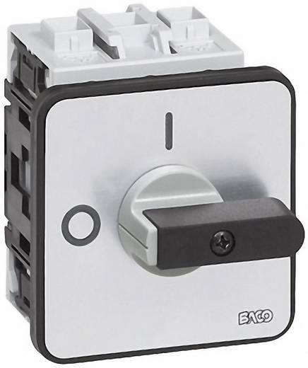 Lasttrennschalter 50 A 1 x 90 ° Grau, Schwarz BACO BA174202 1 St.