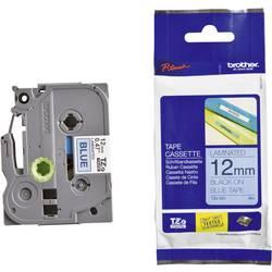 Páska do štítkovača Brother TZe-531, 5834079, 12 mm, TZe, TZ, 8 m, čierna / modrá