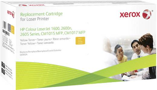 Xerox Toner ersetzt HP 124A, Q6002A Kompatibel Gelb 3300 Seiten 003R99770