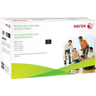 Xerox Toner ersetzt HP 504X, CE250X Kompatibel Schwarz 12600 Seiten 106R02137 Preisvergleich