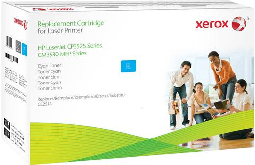 Xerox Toner ersetzt HP 504A, CE251A Kompatibel Cyan 8500 Seiten 106R01584