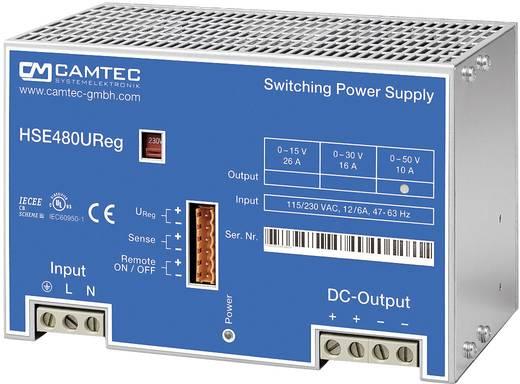 Labornetzgerät, einstellbar Camtec HSEUreg04801.15T 0 - 15 V/DC 26 A 480 W Anzahl Ausgänge 1