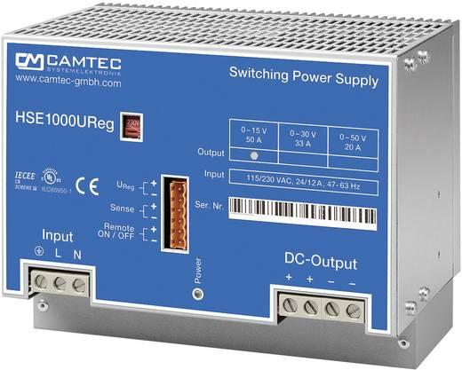 Labornetzgerät, einstellbar Camtec HSEUreg10001.50T 0 - 50 V/DC 20 A 1008 W Anzahl Ausgänge 1