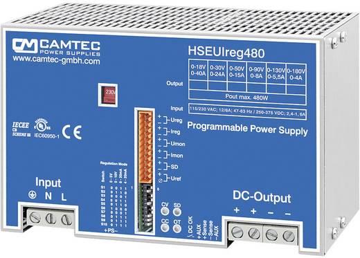 Labornetzgerät, einstellbar Camtec HSEUIreg04801.18T 0 - 18 V/DC 0 - 40 A 480 W Anzahl Ausgänge 1