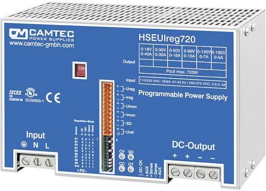 Labornetzgerät, einstellbar Camtec HSEUIreg07201.18T 0 - 18 V/DC 0 - 40 A 720 W Anzahl Ausgänge 1