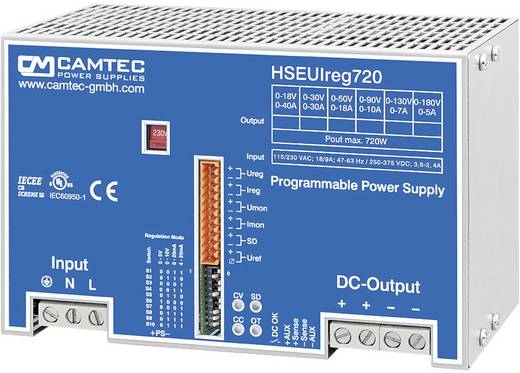 Labornetzgerät, einstellbar Camtec HSEUIreg07201.30T 0 - 30 V/DC 0 - 30 A 720 W Anzahl Ausgänge 1