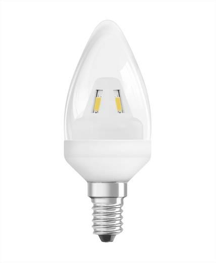 LED E14 Kerzenform 4 W = 25 W Warmweiß (Ø x L) 42 mm x 120 mm EEK: A+ OSRAM 1 St.