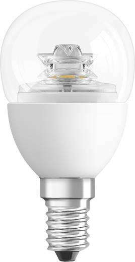 LED E14 Tropfenform 3.8 W = 25 W Warmweiß (Ø x L) 44 mm x 82 mm EEK: A+ OSRAM dimmbar 1 St.