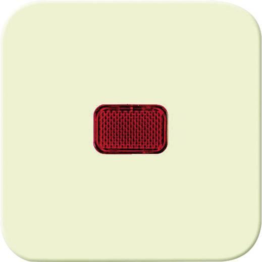 Busch-Jaeger Abdeckung Kontrollschalter, Wechselschalter Duro 2000 SI, Duro 2000 SI Linear Creme-Weiß