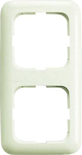 Busch-Jaeger 2fach Rahmen Duro 2000 SI Creme-Weiß 2512-212