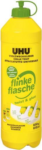 UHU 46325 Alleskleber flinke Flasche ohne Lösungsmittel Nachfüllflasche 850 g