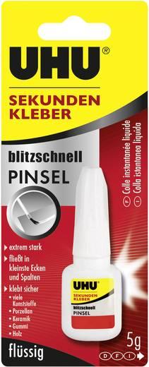 UHU blitzschnell PINSEL Sekundenkleber 45545 5 g