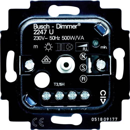 busch jaeger einsatz dimmer duro 2000 si linear duro 2000. Black Bedroom Furniture Sets. Home Design Ideas
