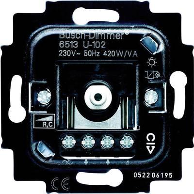 busch jaeger einsatz dimmer duro 2000 si linear duro 2000. Black Bedroom Furniture Sets. Home Design Ideas