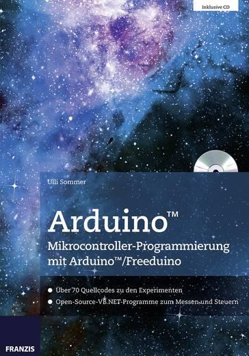 Franzis Verlag Buch Arduino Mikrocontroller-Programmierung mit Arduino/Freeduino 65147