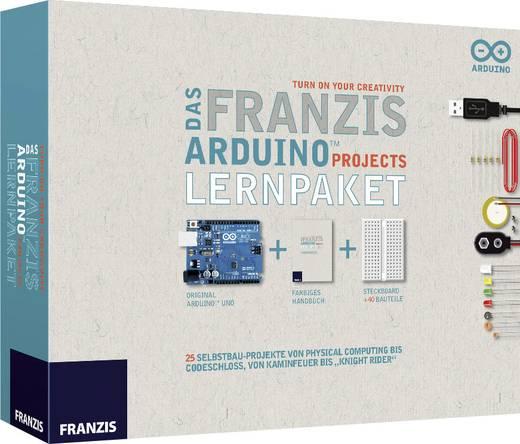 Franzis Verlag Lernpaket Das Franzis Arduino Projects Lernpaket 65185 ATMega328