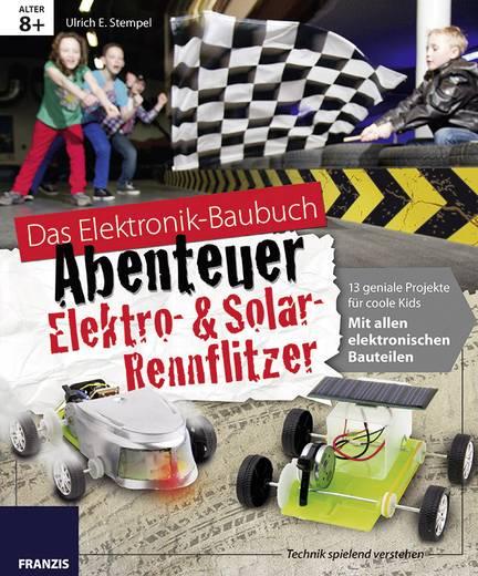 Baubuch Franzis Verlag Abenteuer Elektro- & Solar-Rennflitzer 978-3-645-65186-8 ab 8 Jahre