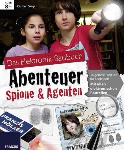 Baubuch Franzis Verlag Abenteuer Spione & Agenten 978-3-645-65184-4 ab 8 Jahre