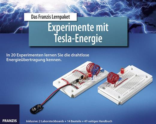 Lernpaket Franzis Verlag Experimente mit Tesla-Energie 978-3-645-65201-8 ab 14 Jahre