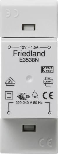 Klingel-Transformator 12 V/AC 1.5 A Friedland E3538N