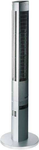 Trisa Silent Power Turmventilator 38 W (L x B x H) 16.5 x 16 x 117 cm Silber