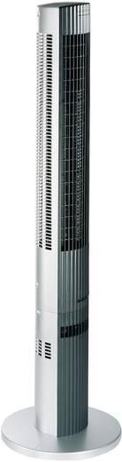 Turmventilator Trisa Silent Power 38 W (L x B x H) 16.5 x 16 x 117 cm Silber