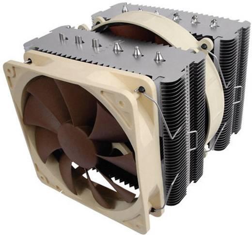 Noctua Kühler NH-D14 Luft-Fördermenge 92,3 m³/h Kühlkörper-Material Kupferbasis, Kupfer-Heatpipe, Aluminium-Kühlrippen Geräusch-Entwicklung max. 19,8 dB(A), mind. 12,6 dB(A)