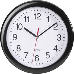 Quartz nástenné hodiny EuroTime 22221, Ø 25 cm, čierna
