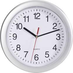 Quartz nástenné hodiny EuroTime 22222, vonkajší Ø 25 cm, strieborná