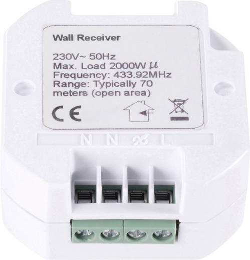 RSL Funk-Schalter Unterputz 1-Kanal zum Einlegen in UP-Dose Schaltleistung (max.) 2000 W Reichweite max. (im Freifeld)