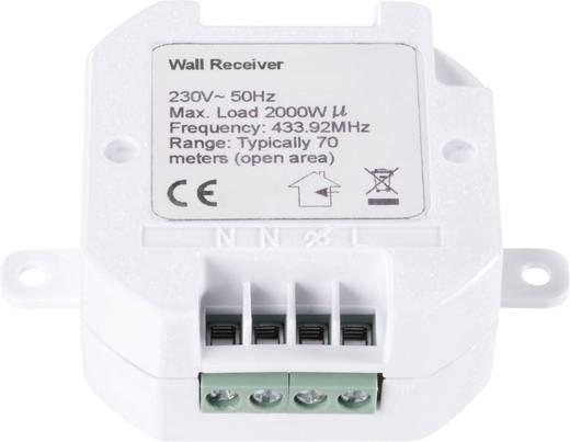 RSL Funk-Schalter Unterputz 1-Kanal mit Montageösen Schaltleistung (max.) 2000 W Reichweite max. (im Freifeld) 70 m