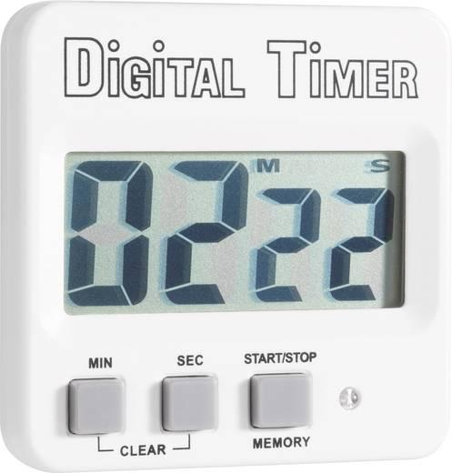 Timer 640532 Weiß, Schwarz digital