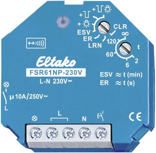 Eltako Funk-Schaltaktor FSR61NP-230V Stromstoß-Schalter 1-Kanal Unterputz Schaltleistung (max.) 2000 W Reichweite max. (