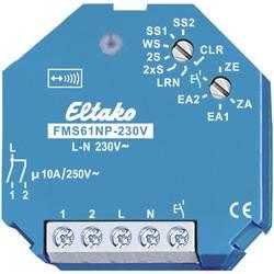 Eltako spínač pohonu FMS61NP-230V spínač proudového impulsu 1kanálový pod omítku Spínací výkon (max.) 2000 W Max. dosah 100 m