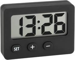 Digitální hodiny, 60-2013-01, 42 x 59 mm, černá