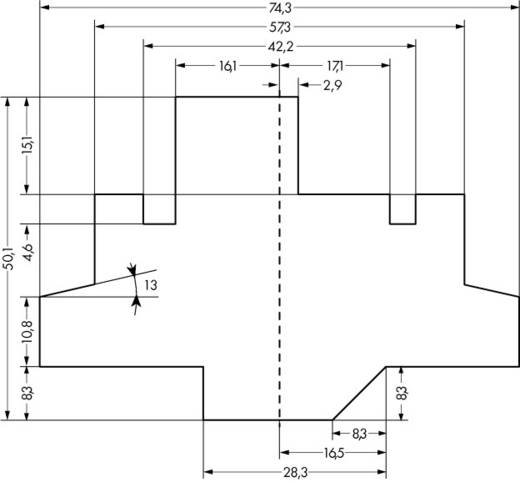 Gehäuse Grau 1 St. WAGO 859-110