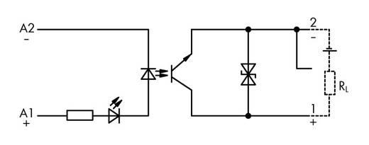Optokopplerrelais 1 St. 24 V/DC 100 mA WAGO 859-791