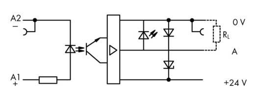 Optokopplerrelais 1 St. 5 V/DC 500 mA WAGO 859-752