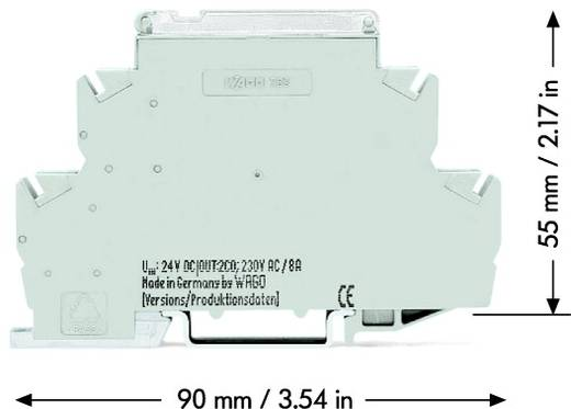 Industrierelais 1 St. WAGO 789-570 Nennspannung: 230 V/AC Schaltstrom (max.): 16 A 1 Schließer
