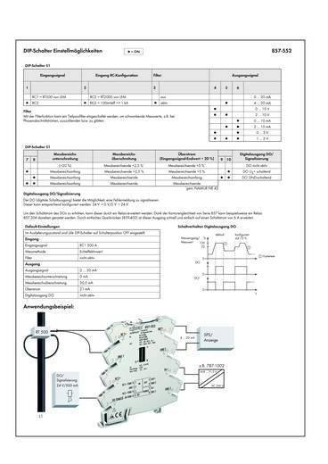 JUMPFLEX®-Messumformer; Rogowski-Messumformer WAGO 857-552 1 St.