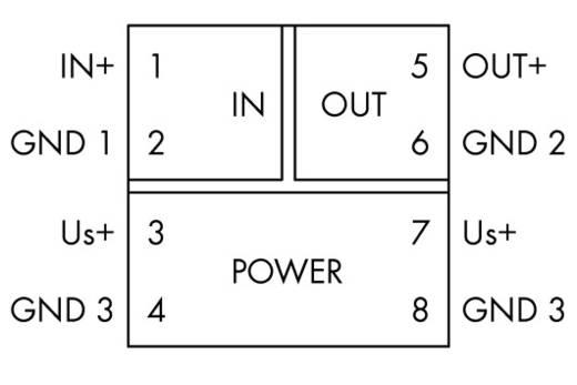 JUMPFLEX®-Messumformer; Trennverstärker; fest eingestellt für Spannungssignale WAGO 857-416 1 St.