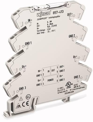 JUMPFLEX®-Messumformer; Trennverstärker; fest eingestellt für Spannungssignale WAGO 857-414 857-414 1 St.