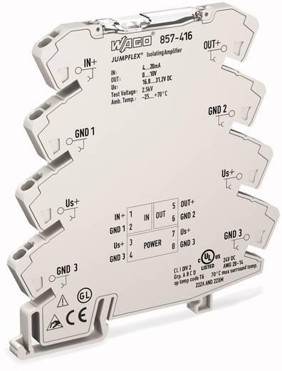 JUMPFLEX®-Messumformer; Trennverstärker; fest eingestellt für Spannungssignale WAGO 857-416 857-416 1 St.