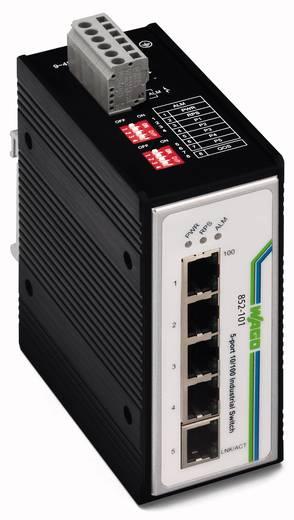 Industrieswitch unmanaged WAGO 852-101 Anzahl Ethernet Ports 5 LAN-Übertragungsrate 100 MBit/s Betriebsspannung 12 V/DC, 24 V/DC, 48 V/DC