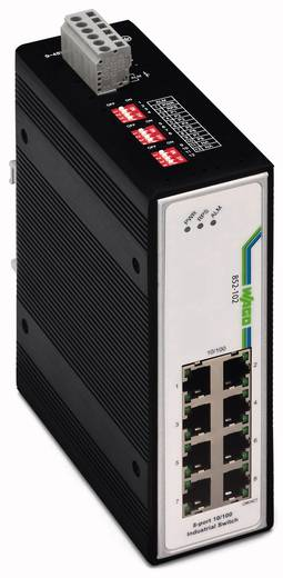Industrieswitch unmanaged WAGO 852-102 Anzahl Ethernet Ports 8 LAN-Übertragungsrate 100 MBit/s Betriebsspannung 12 V/DC, 24 V/DC, 48 V/DC