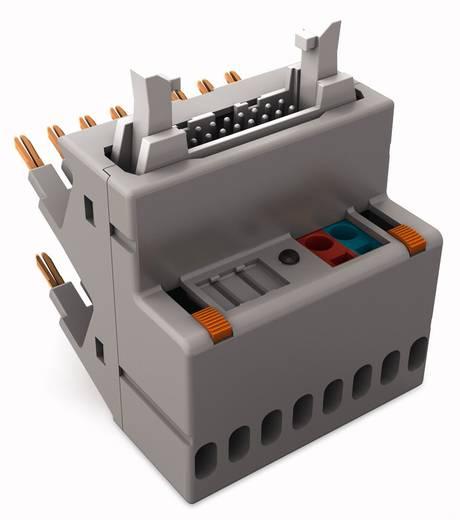 JUMPFLEX®-Adapter; mit 14-poligem Flachbandkabel-Steckverbinder gemäß DIN 41651; Eingang plusschaltend WAGO 857-981 1 S
