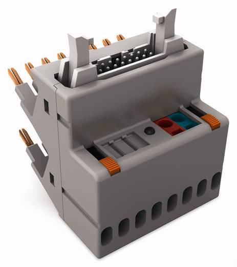 JUMPFLEX®-Adapter; mit 14-poligem Flachbandkabel-Steckverbinder gemäß DIN 41651; Ausgang plusschaltend WAGO 857-982 857-
