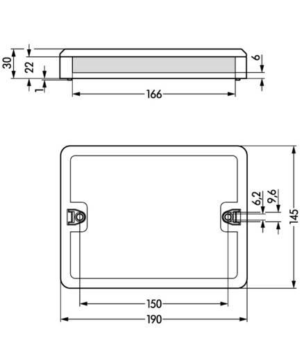 Verteiler-Box WAGO 770-681 Weiß 1 St.