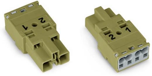 Netz-Steckverbinder WINSTA MIDI Serie (Netzsteckverbinder) WINSTA MIDI Stecker, gerade Gesamtpolzahl: 2 25 A Dunkel-Grau