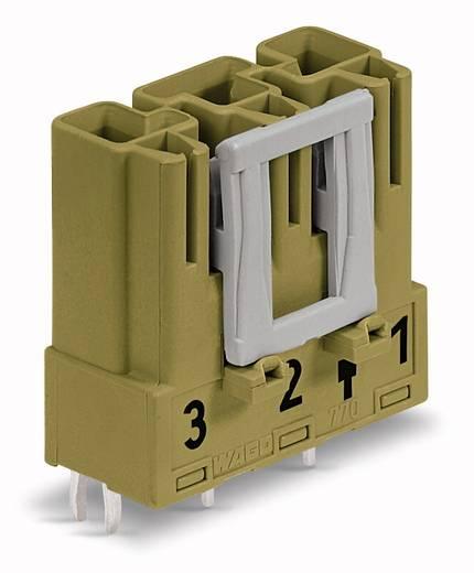 Netz-Steckverbinder Serie (Netzsteckverbinder) WINSTA MIDI Stecker, Einbau vertikal Gesamtpolzahl: 3 25 A Hellgrün WAGO 100 St.